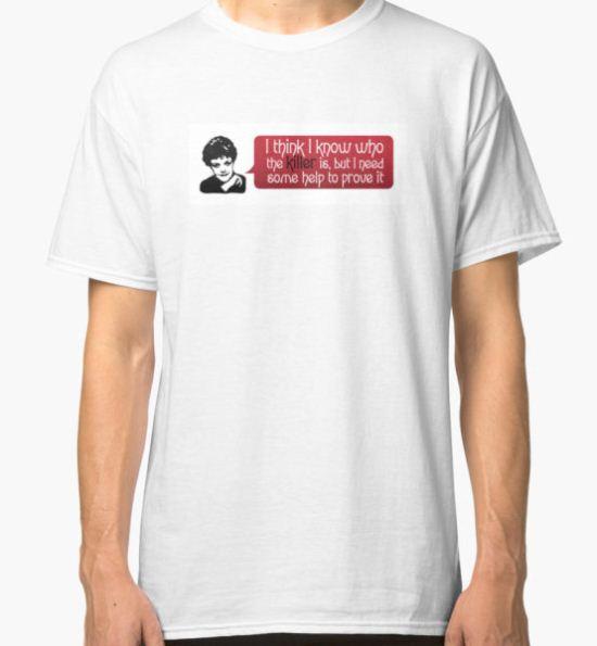 Murder She  Wrote Art Classic T-Shirt by Monkeed T-Shirt