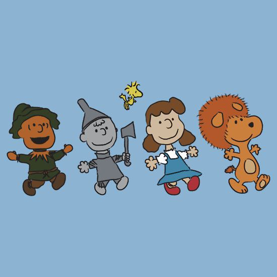 The Wizard of Oz - Snoopy by yuissen T-Shirt