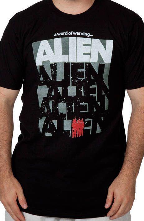 Word of Warning Alien Shirt