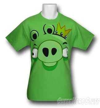 Angry Birds Pig Face T-Shirt