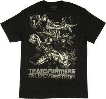 Transformers Fall of Cybertron Shaded T-Shirt