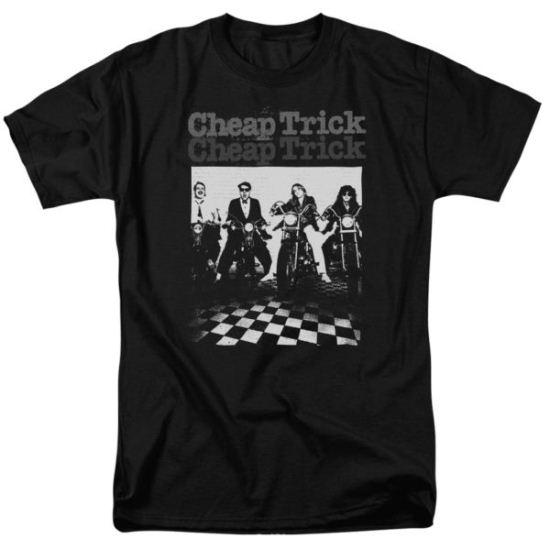 Cheap Trick Shirt Bikes Black T-Shirt