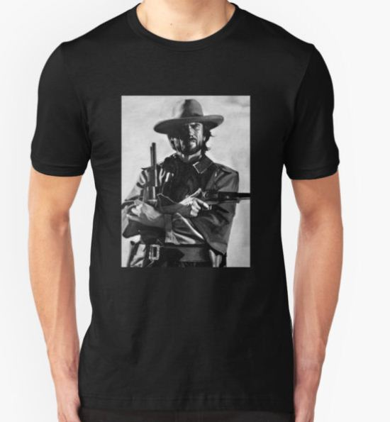 Clint Eastwood T-Shirt by Larry McFarland T-Shirt