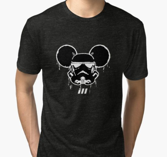 Mouse Trooper Tri-blend T-Shirt by illproxy T-Shirt