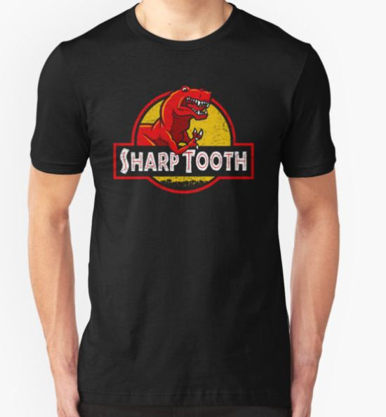 Sharp Tooth T-Shirt (Jurassic Park) T-Shirt by Tabner T-Shirt