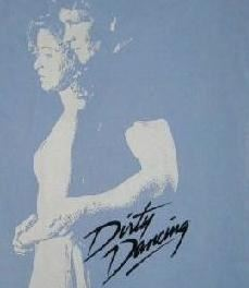Dirty Dancing John and Baby Distressed T-shirt