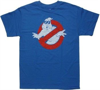 Ghostbusters Vintage Logo Shades T-Shirt