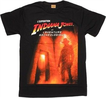 Indiana Jones et L'Aventure Archeologique T-Shirt Sheer