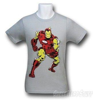 Iron Man Big Print 30 Single T-Shirt