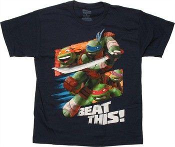 Teenage Mutant Ninja Turtles Beat This Youth T-Shirt