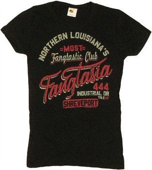 True Blood Fangtasia North Louisiana's Most Fangtastic Club Baby Doll Tee