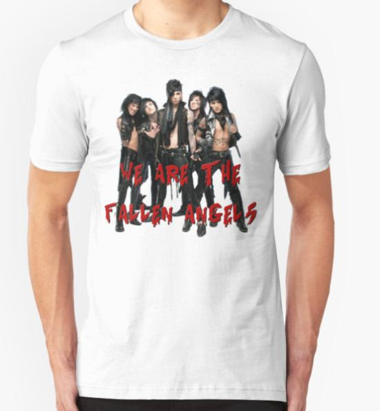 Black Veil Brides - Fallen Angels T-Shirt by MiindfreakkXIII T-Shirt