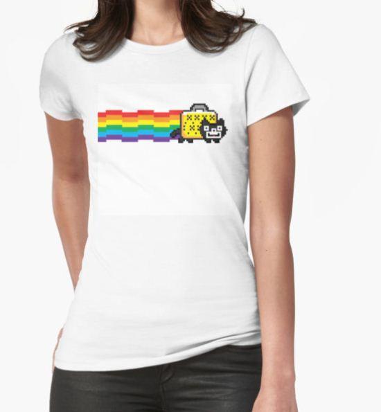 Nyan Felix T-Shirt by deqp T-Shirt