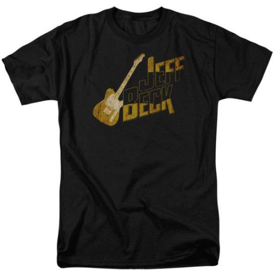 Jeff Beck Shirt That Yellow Guitar Black T-Shirt