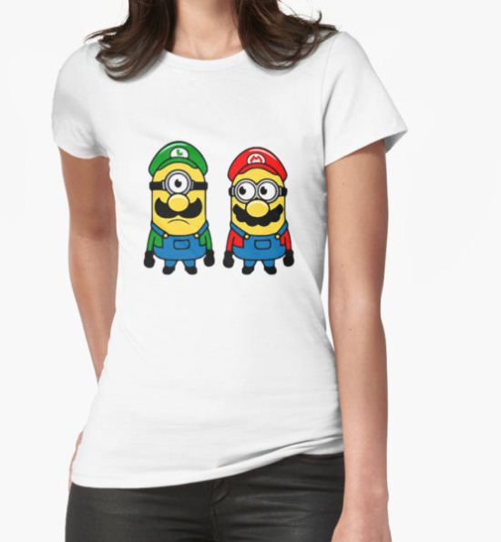 Mario Minions T-Shirt by pentelkec T-Shirt