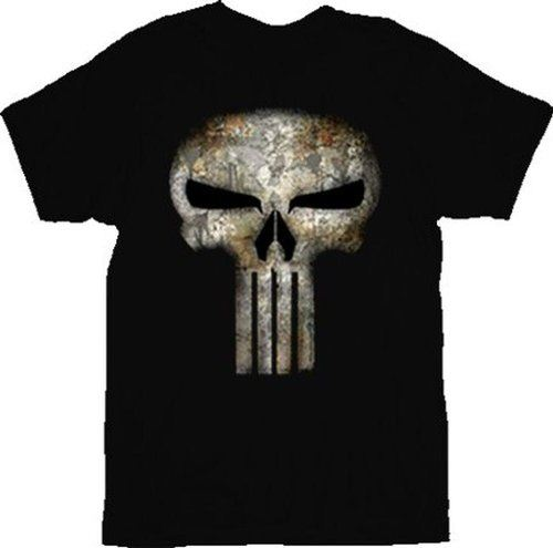 The Punisher No Sweat Rust Distressed T-shirt