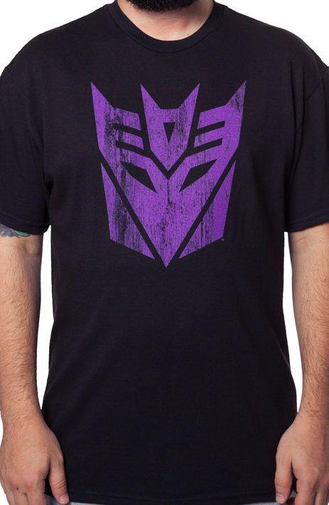 Black Decepticon Logo T-Shirt