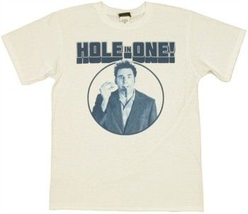 Seinfeld Kramer Hole in One T-Shirt