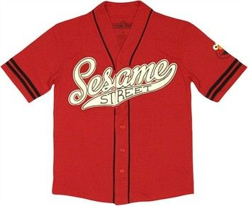 Sesame Street Elmo Baseball Jersey