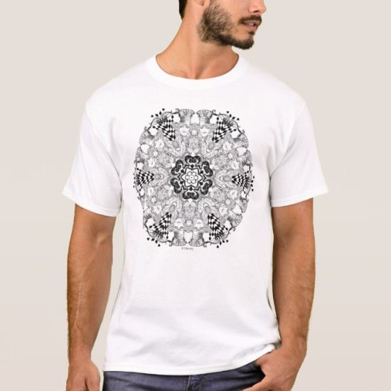 Mad Hatter Kaleidoscope T-Shirt