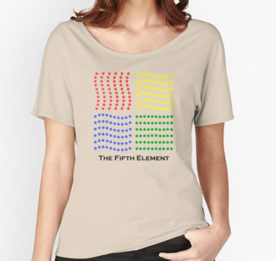 The Fifth Element Women's Relaxed Fit T-Shirt by Amelia Tornatore T-Shirt