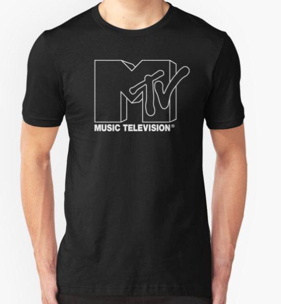 MTV Logo 2 T-Shirt by bruceperdew T-Shirt