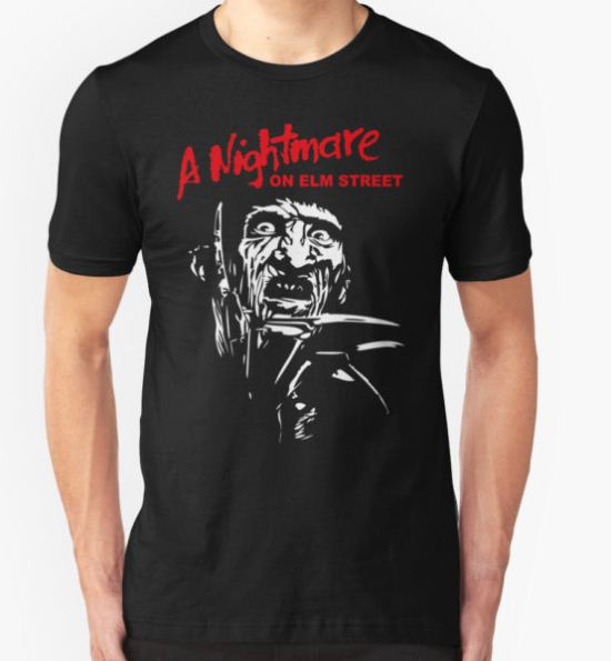 Freddy Krueger T-Shirt by futbolko T-Shirt