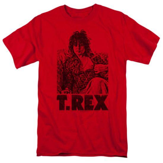 T.Rex Shirt Lounging Red T-Shirt