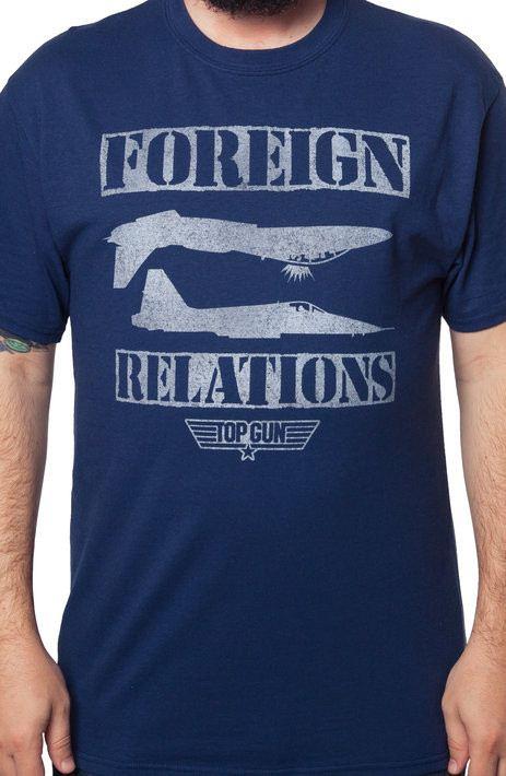 Foreign Relations Top Gun T-Shirt