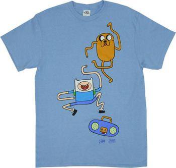 Dance Dance - Adventure Time T-shirt