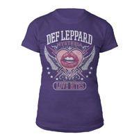 Def Leppard Hysteria Ladies Tee