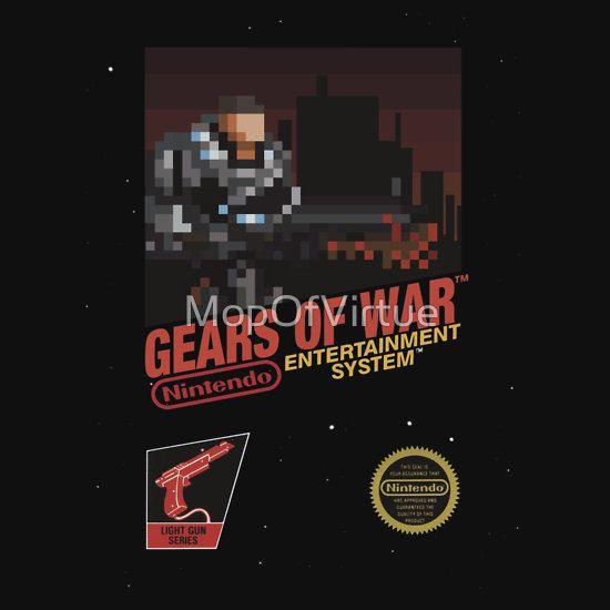 Gears Of War Retrofied