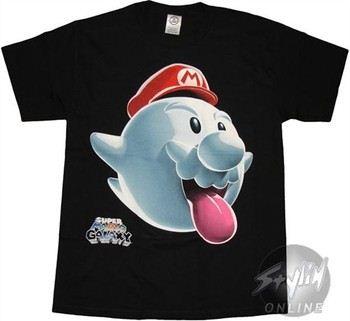Super Mario Galaxy Cloud Tounge T-Shirt