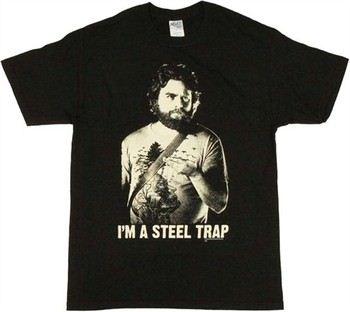 Hangover Alan Garner Steel Trap T-Shirt