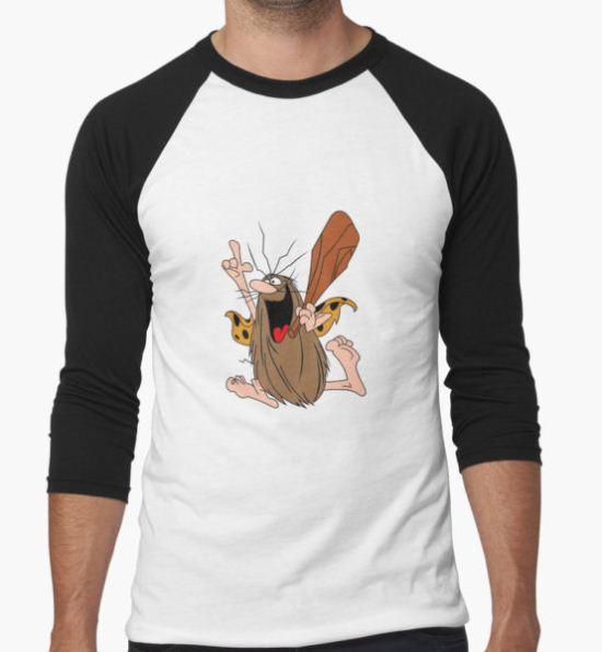 Captain Caveman T-Shirt by ricardosanford T-Shirt