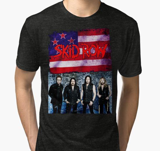ANISUNO07 Skid Row Tour 2016 Tri-blend T-Shirt by anisuno16 T-Shirt
