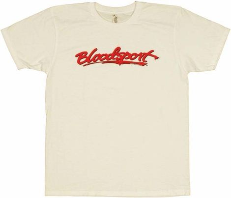 Bloodsport Logo T Shirt Sheer