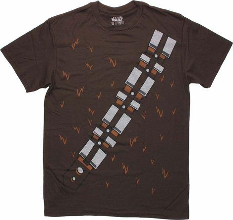 Star Wars Chewbacca Uniform T Shirt