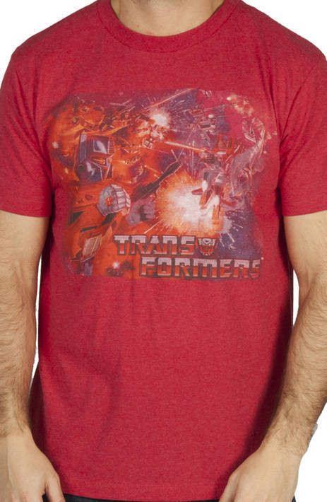 Battle Optimus Prime Shirt