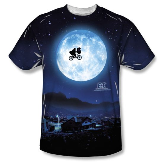 ET Shirts - Extra Terrestrial Moon Sublimation Shirt