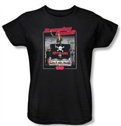 Animal House Ladies T-shirt Movie Ramming Speed Black Tee Shirt