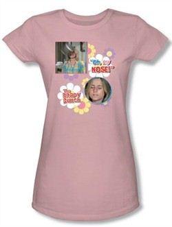 The Brady Bunch TV Oh, My Nose! Juniors Pink T-Shirt