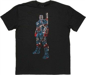 ARC REACTOR II Kids Girls T-Shirt Iron Avengers Tony Stark Man Mark Industries