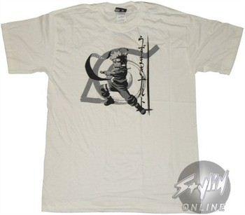 Naruto Solo Jitsu White T-Shirt