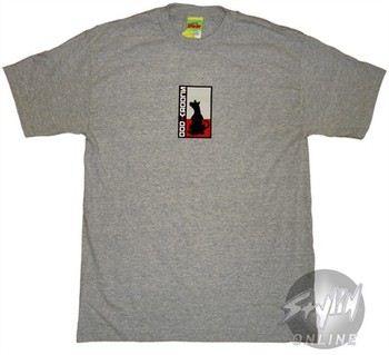 Scooby Doo Logo Gray T-Shirt