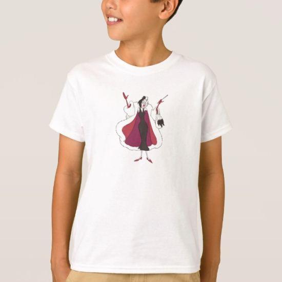 101 Dalmations' Cruella de Vil Disney T-Shirt