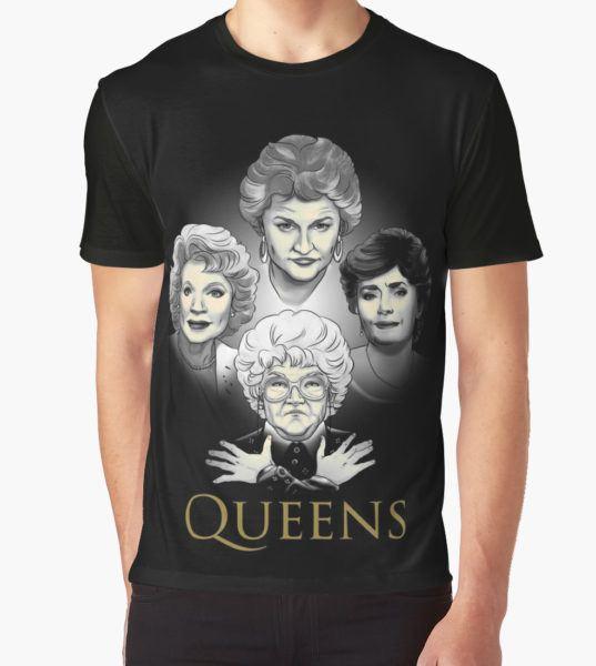 Golden Queens Graphic T-Shirt by Ursula Lopez T-Shirt