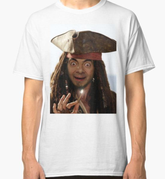 Captain Bean Classic T-Shirt by Dfarrer98x T-Shirt