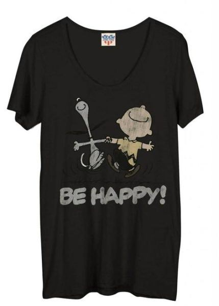 Junk Food Peanuts Be Happy T-Shirt