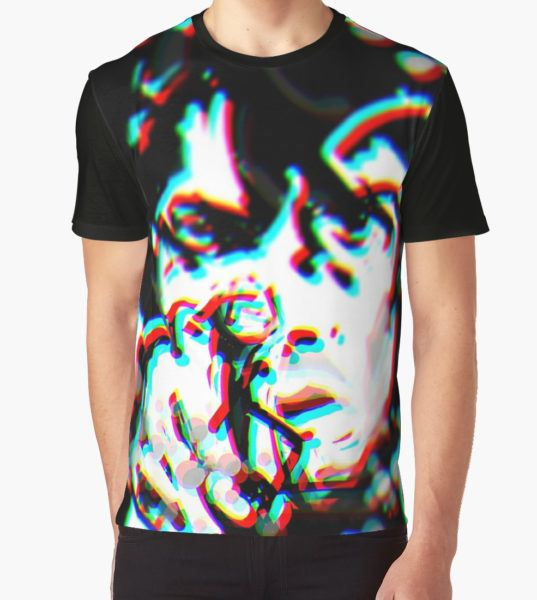 Syd Barrett 3D Graphic T-Shirt by Smithjohnny T-Shirt